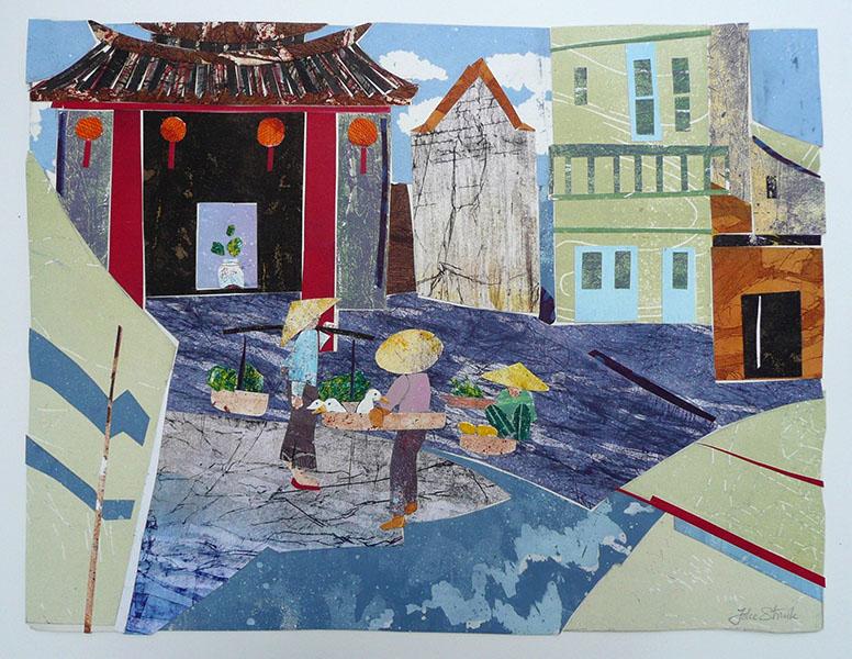 ZO Azie, 39 x 52, grafiekcollage, € 380,-;