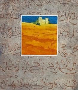 Veel verder dan vliegen (Marokko), 33 x 37, ets/aquatint, € 145,-